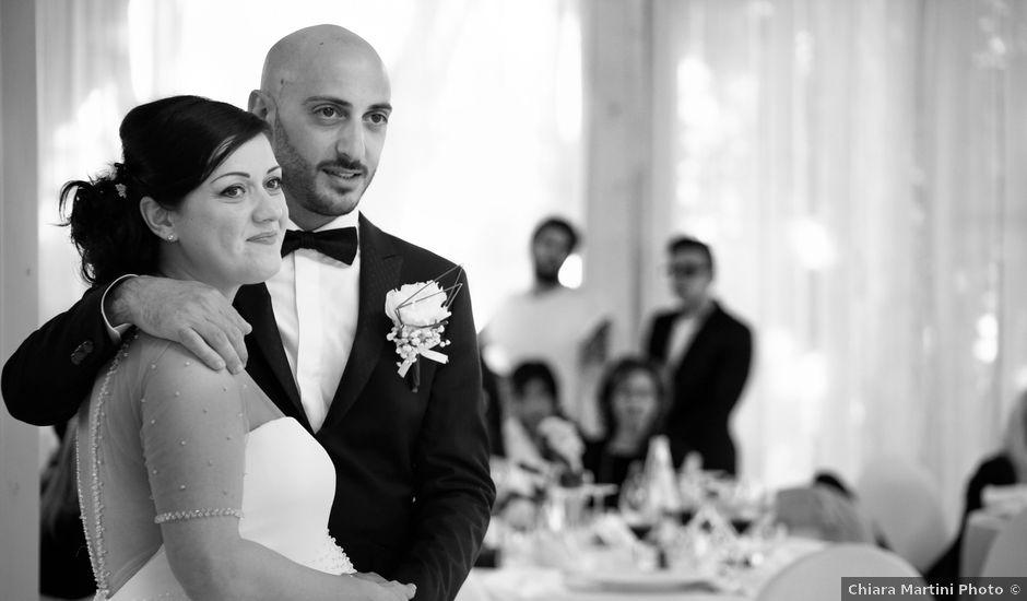 Il matrimonio di Fabio e Hanya a Alba Adriatica, Teramo