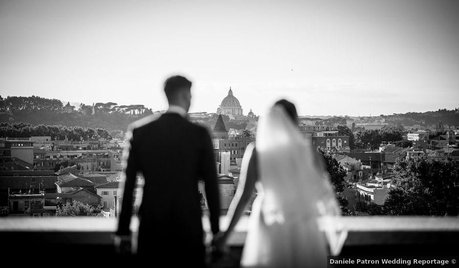 Il matrimonio di Flavia e Andrea a Roma, Roma