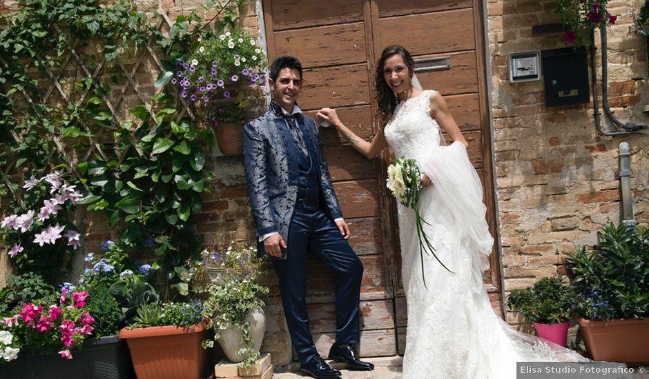 Il matrimonio di Moreno e Francesca a Monte San Vito, Ancona