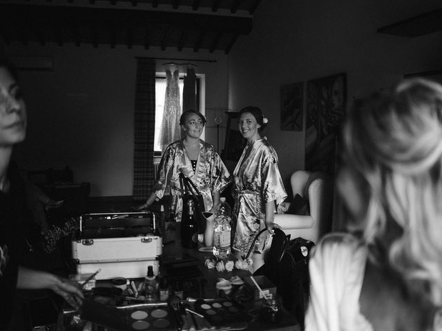 Il matrimonio di Laura e Mattew a Chiusdino, Siena 10