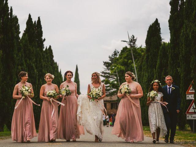 Il matrimonio di Laura e Mattew a Chiusdino, Siena 27