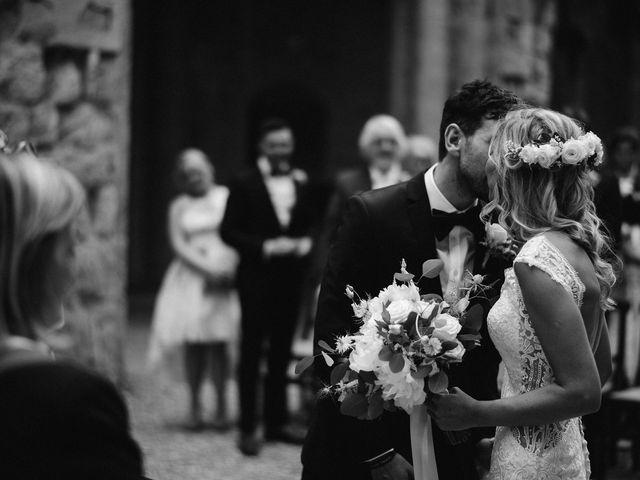 Il matrimonio di Laura e Mattew a Chiusdino, Siena 32