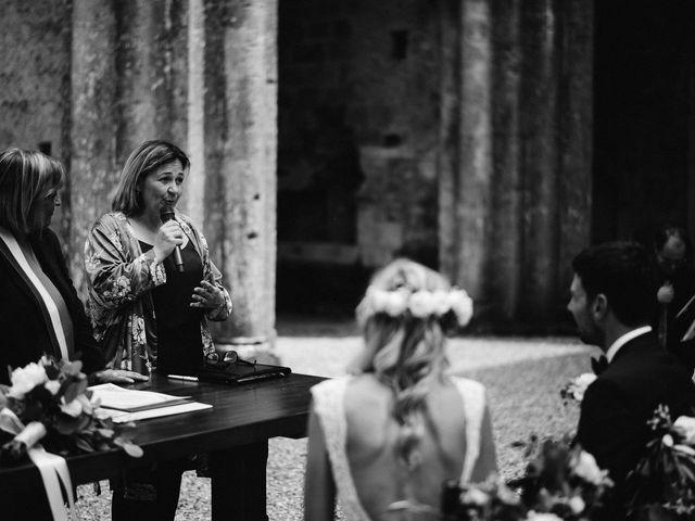 Il matrimonio di Laura e Mattew a Chiusdino, Siena 44
