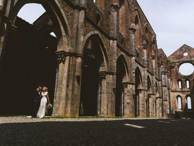 Il matrimonio di Laura e Mattew a Chiusdino, Siena 50