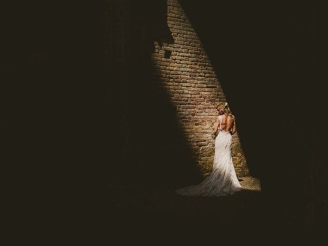 Il matrimonio di Laura e Mattew a Chiusdino, Siena 55