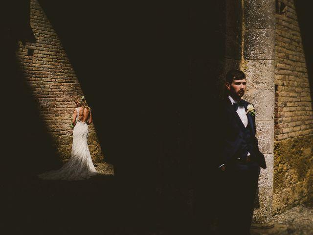 Il matrimonio di Laura e Mattew a Chiusdino, Siena 56