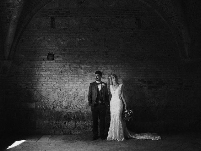 Il matrimonio di Laura e Mattew a Chiusdino, Siena 60
