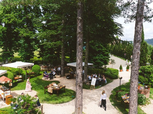 Il matrimonio di Laura e Mattew a Chiusdino, Siena 63