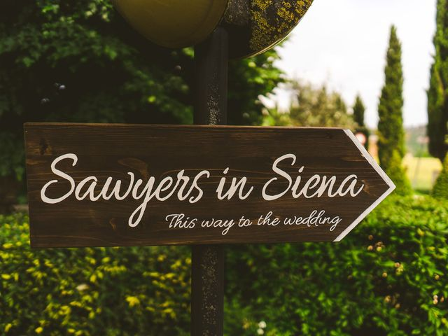 Il matrimonio di Laura e Mattew a Chiusdino, Siena 65