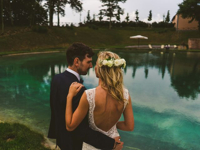 Il matrimonio di Laura e Mattew a Chiusdino, Siena 71