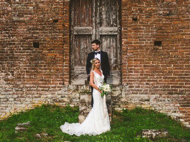 Il matrimonio di Laura e Mattew a Chiusdino, Siena 1