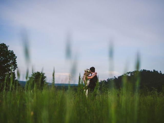 Il matrimonio di Laura e Mattew a Chiusdino, Siena 76