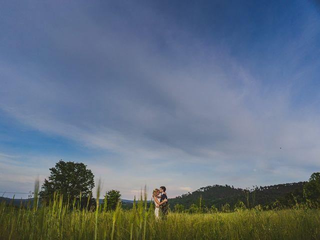 Il matrimonio di Laura e Mattew a Chiusdino, Siena 2