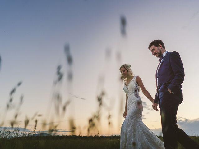 Il matrimonio di Laura e Mattew a Chiusdino, Siena 81