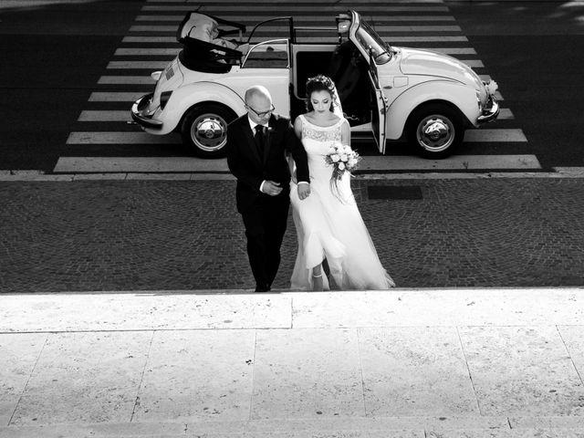 Il matrimonio di Danilo e Flavia a Roma, Roma 22