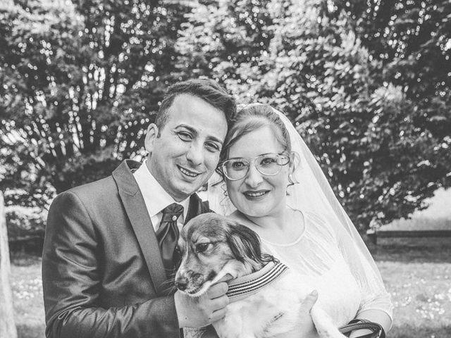 Il matrimonio di Vincenzo e Veronica a Travagliato, Brescia 91