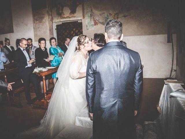 Il matrimonio di Vincenzo e Veronica a Travagliato, Brescia 95
