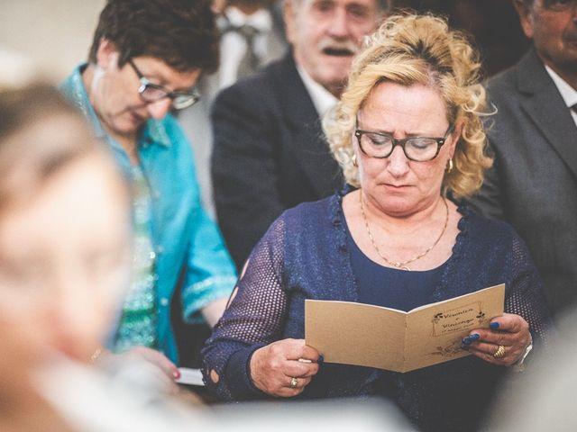 Il matrimonio di Vincenzo e Veronica a Travagliato, Brescia 102