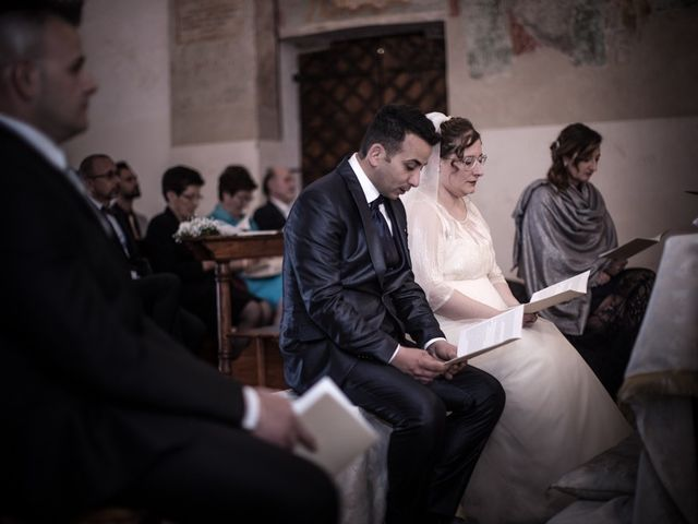 Il matrimonio di Vincenzo e Veronica a Travagliato, Brescia 112