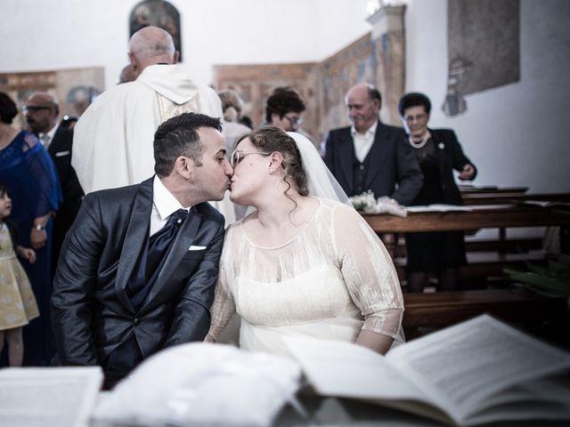 Il matrimonio di Vincenzo e Veronica a Travagliato, Brescia 119