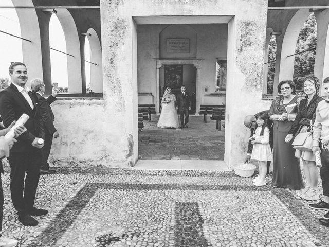 Il matrimonio di Vincenzo e Veronica a Travagliato, Brescia 124