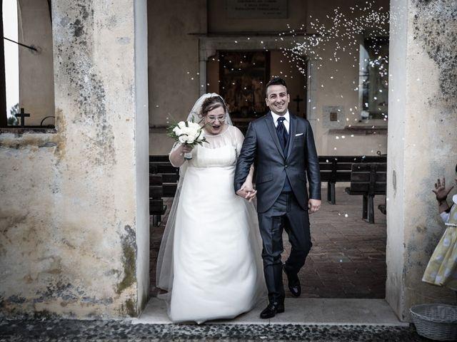 Il matrimonio di Vincenzo e Veronica a Travagliato, Brescia 125