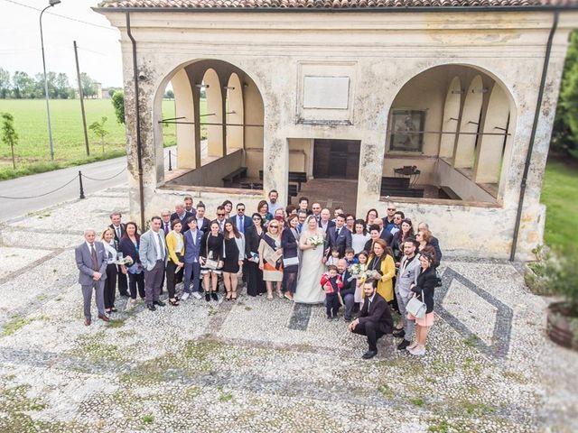 Il matrimonio di Vincenzo e Veronica a Travagliato, Brescia 130