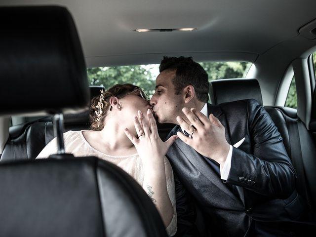 Il matrimonio di Vincenzo e Veronica a Travagliato, Brescia 131