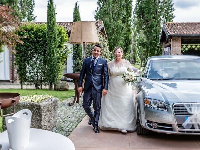 Il matrimonio di Vincenzo e Veronica a Travagliato, Brescia 134