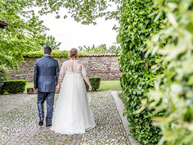 Il matrimonio di Vincenzo e Veronica a Travagliato, Brescia 139