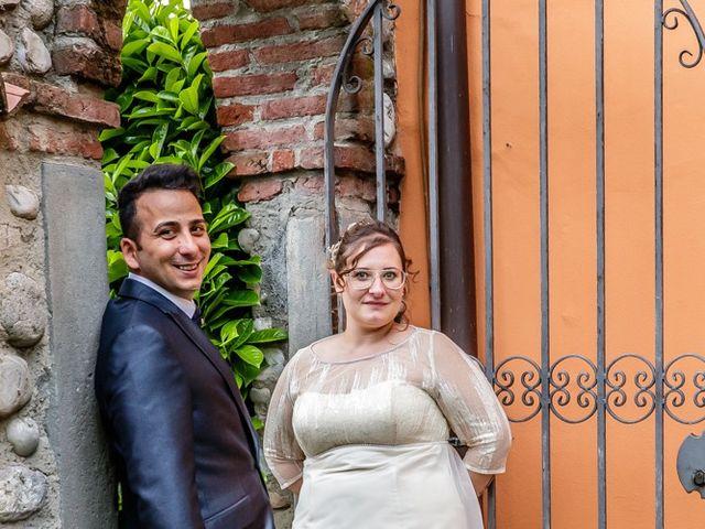 Il matrimonio di Vincenzo e Veronica a Travagliato, Brescia 142
