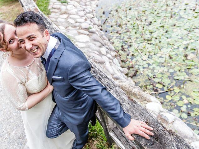 Il matrimonio di Vincenzo e Veronica a Travagliato, Brescia 145