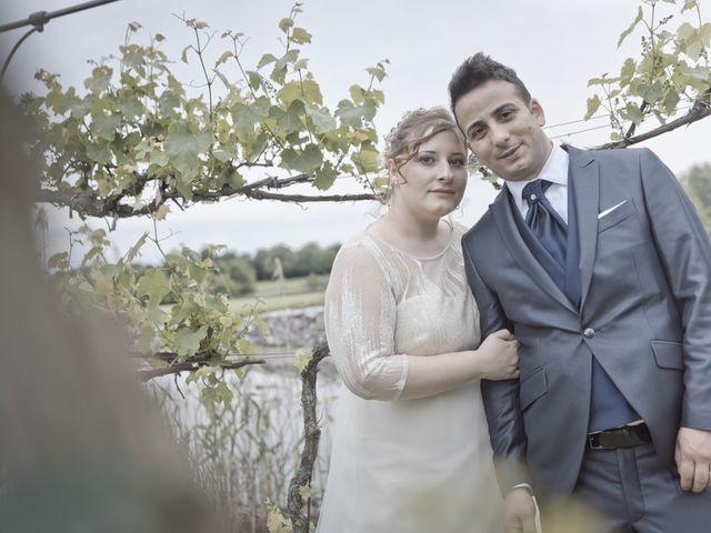 Il matrimonio di Vincenzo e Veronica a Travagliato, Brescia 154