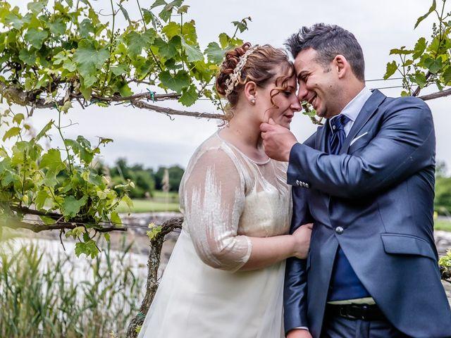 Il matrimonio di Vincenzo e Veronica a Travagliato, Brescia 157