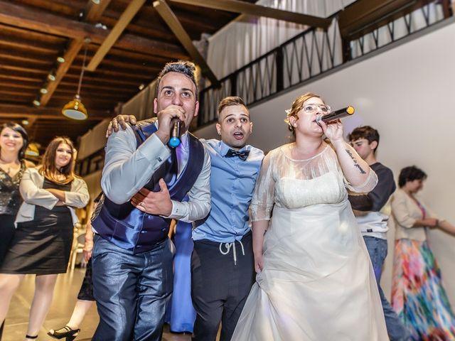 Il matrimonio di Vincenzo e Veronica a Travagliato, Brescia 180