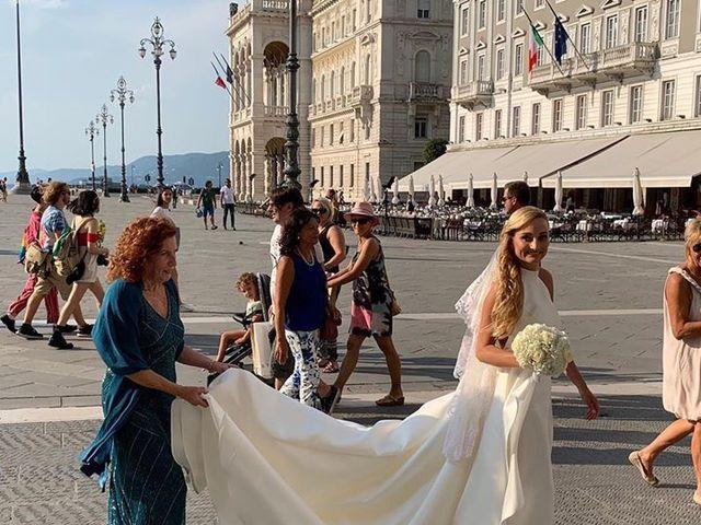 Il matrimonio di Mauricio e Fabrizia a Duino-Aurisina, Trieste 7