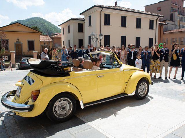 Il matrimonio di Riccardo e Camilla a Canzo, Como 15
