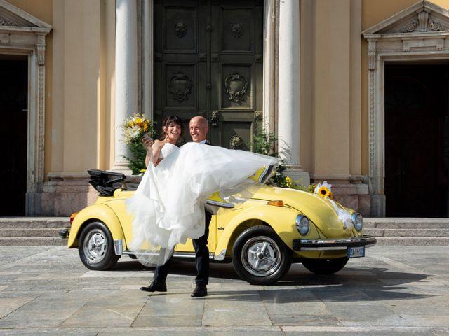 Il matrimonio di Riccardo e Camilla a Canzo, Como 23