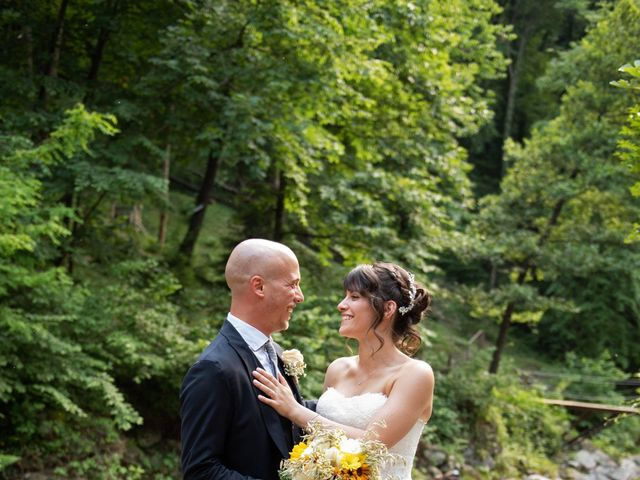 Il matrimonio di Riccardo e Camilla a Canzo, Como 25