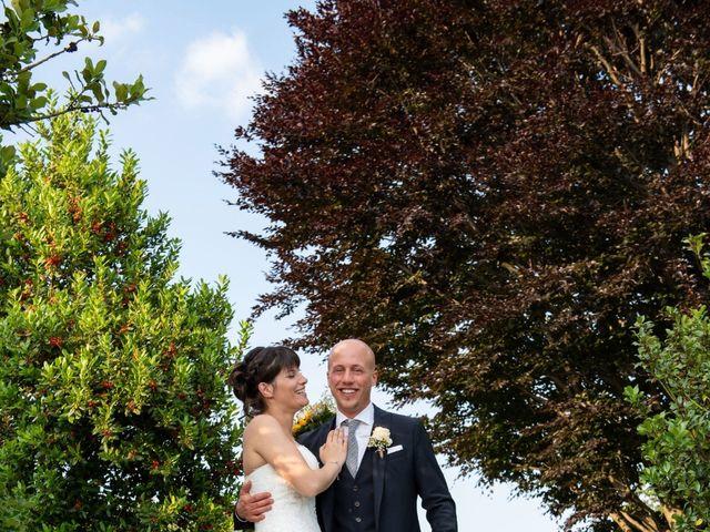 Il matrimonio di Riccardo e Camilla a Canzo, Como 28
