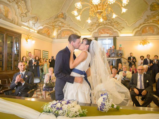 Il matrimonio di Diego e Marzia a Castelverde, Cremona 27