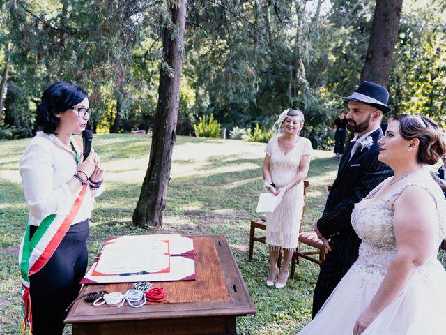 Il matrimonio di Carlo Alberto e Greta a San Bonifacio, Verona 12