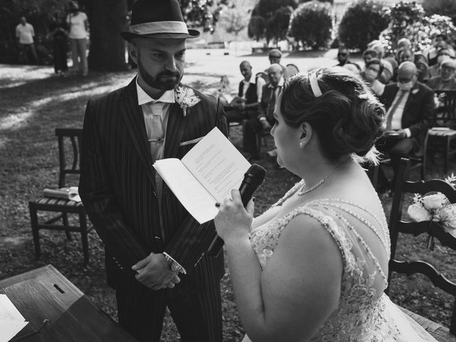Il matrimonio di Carlo Alberto e Greta a San Bonifacio, Verona 15