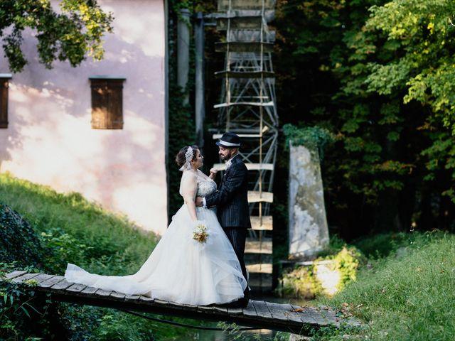 Le nozze di Greta e Carlo Alberto