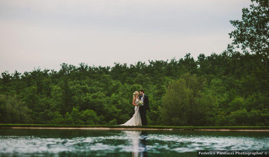 Il matrimonio di Laura e Mattew a Chiusdino, Siena