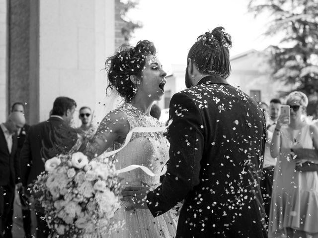 Il matrimonio di Stefano e Michela a Castello di Godego, Treviso 35