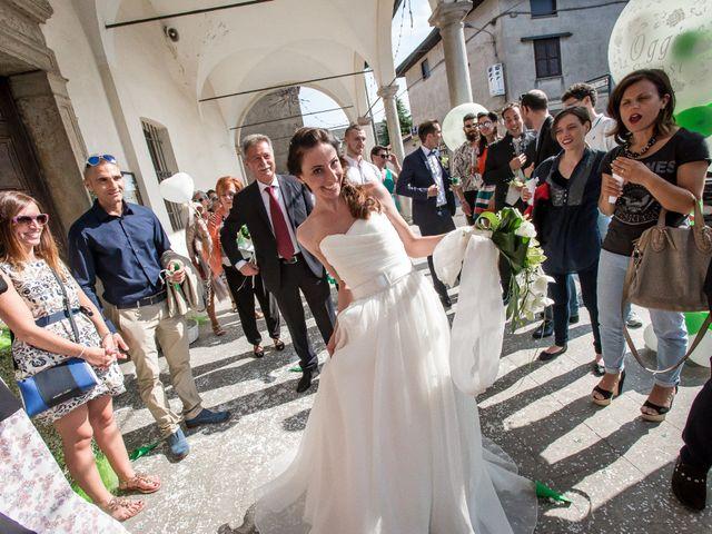 Il matrimonio di Andrea e Anna a Turate, Como 15