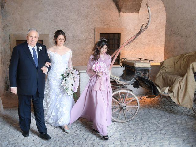 Il matrimonio di Marco e Loredana a Vicovaro, Roma 19