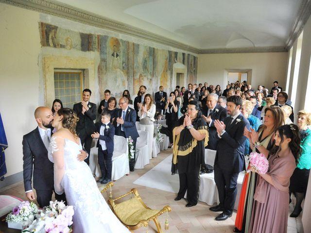 Il matrimonio di Marco e Loredana a Vicovaro, Roma 20
