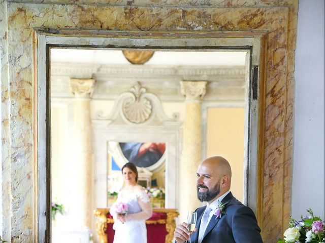 Il matrimonio di Marco e Loredana a Vicovaro, Roma 33